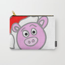 Christmassy Pig Carry-All Pouch