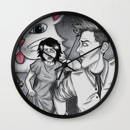 Docile Invader Wall Clock