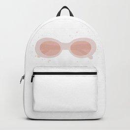 pink sunglasses Backpack