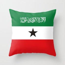Somaliland republic flag somalia Throw Pillow