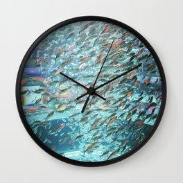 Typhoon Fish Wall Clock