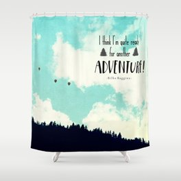 Another Adventure Shower Curtain