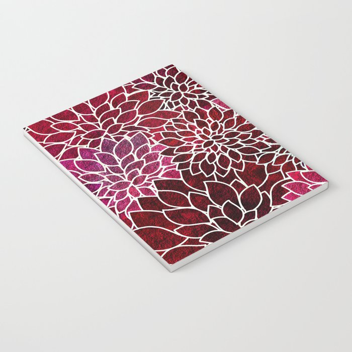 Floral Abstract 2 Notebook