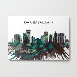 Dar es Salaam Skyline Metal Print