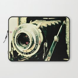 Vintage Camera Print: Ansco Afga Speedex Standard! Laptop Sleeve