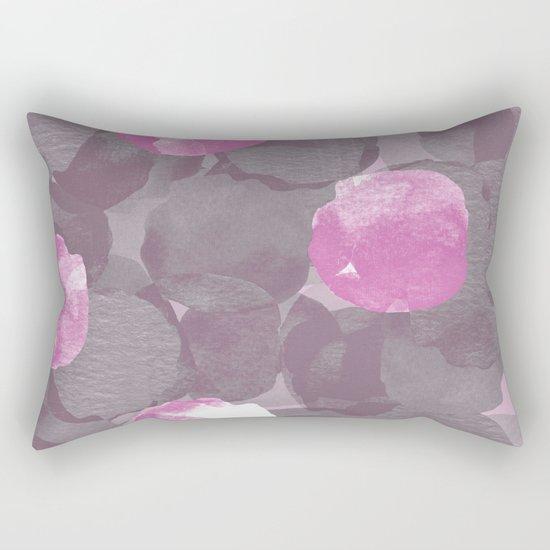 Abstract Peonies Rectangular Pillow