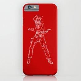 Crimson Cowgirl iPhone Case