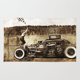 The Pixeleye - Special Edition Hot Rod Series I  Rug