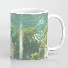 Watercolor Seascape, St John 10, USVI Coffee Mug