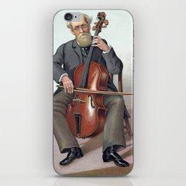 violoncelliste musicien iPhone Skin
