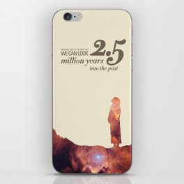LOOK INTO THE PAST - Andromeda | Space | Time | Stars | Science | Planets | Million | Years | Travel iPhone Skin