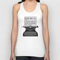 writer Tank Tops featuring Writer Defined by Nicole Austin