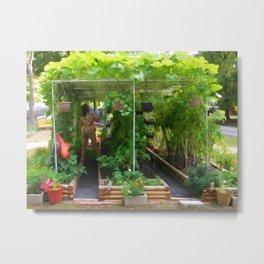 Organic Gardening 2 Metal Print