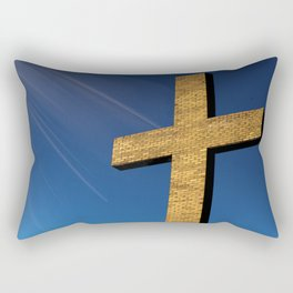 Heaven's Cross Rectangular Pillow