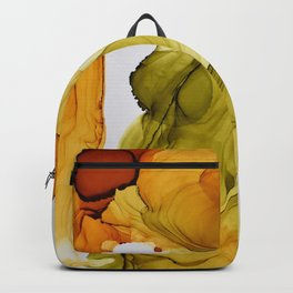 Autumn Ink Composition Backpack