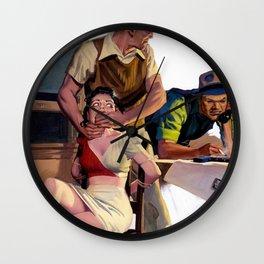 Hugh Joseph Ward - Two Fisted Tales of True Life Weird Romance - Digital Remastered Edition Wall Clock