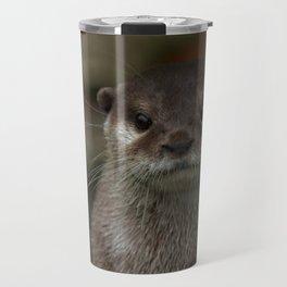 Curious Otter Travel Mug