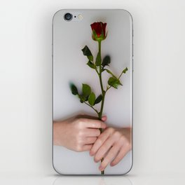 Milky Rose iPhone Skin
