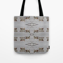 Egyptian Geese with Babies Tote Bag