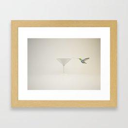 Colibrí Framed Art Print