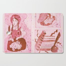 Anne of Green Gables Red Cutting Board