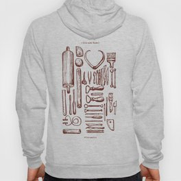 """Live with tools"" -- Ceramic Artist. Hoody"