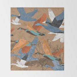 Goose Throw Blanket
