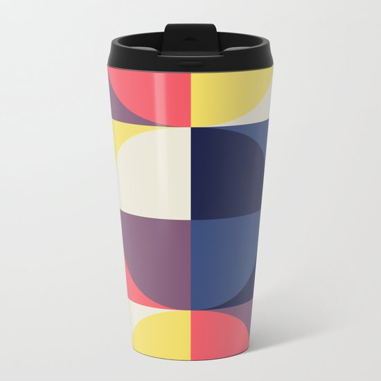 Quarters Quilt 1 Metal Travel Mug