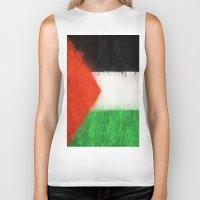 palestine Biker Tanks featuring Palestine by 2b2dornot2b