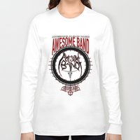 band Long Sleeve T-shirts featuring Amazing Band by Ethan Raney Jarma