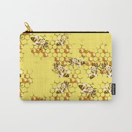 Honey Hive Carry-All Pouch