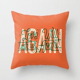 Love Will Tear Us Apart ... Again Throw Pillow