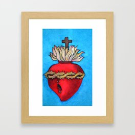 Most Sacred Heart of Jesus Framed Art Print