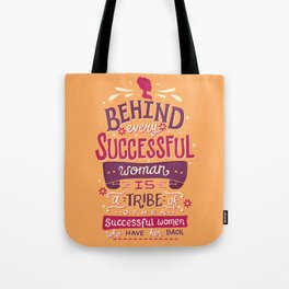 Successful women Tote Bag