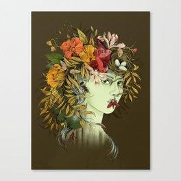 Persephone, goddess of Spring Canvas Print