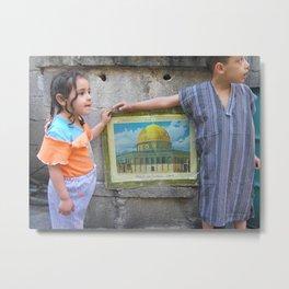 Homs Palestinian Camp Metal Print