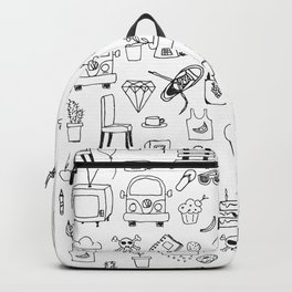 Just things, just ink Backpack