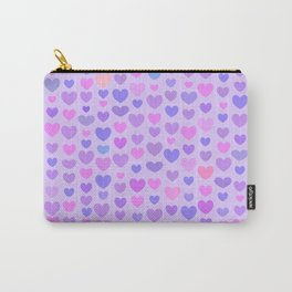Saint Valentines Day Hearts Carry-All Pouch