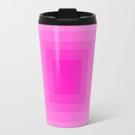 Fuschia Monochrome Travel Mug