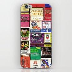 Antique Matchbooks iPhone & iPod Skin