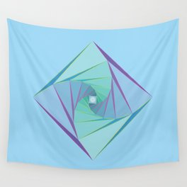 Downward Spiral Wall Tapestry