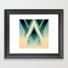 Umbral Framed Art Print