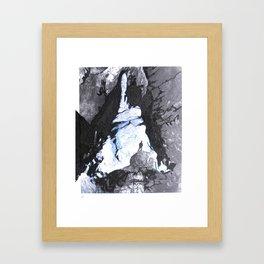 Cave Drawing V Framed Art Print