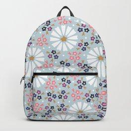 Soft Floral Backpack