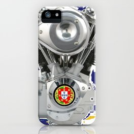 Azores Knucklehead Biker flag iPhone Case