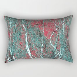 BIRCH in the AUTUMN Rectangular Pillow