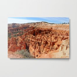 Bryce Canyon View At Sunset Point Metal Print
