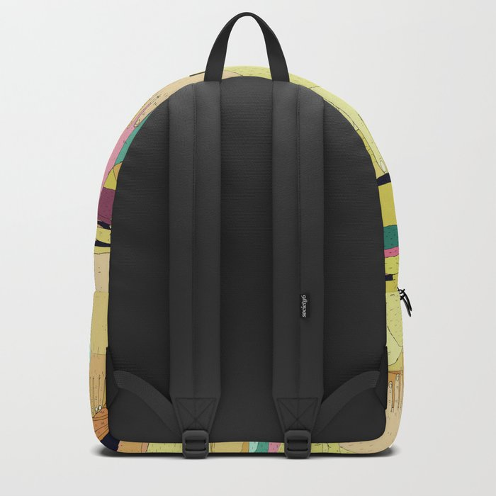 hands confusion Backpack