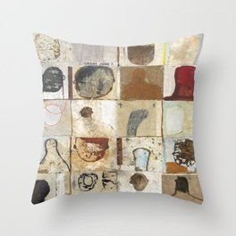 Nothing People Throw Pillow