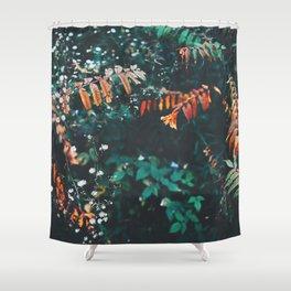 Pops of Colour Shower Curtain